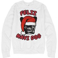 Feliz Navi Dog Christmas