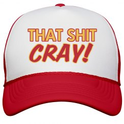 That's Cray Trucker Hat