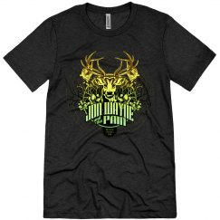 Deer Jon Tee Black