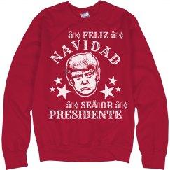 Feliz Navidad Mr Trump