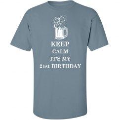 Keep Calm 21st Birthday