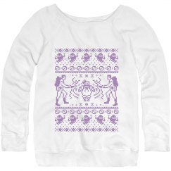 Ugly Ghost Call Sweater