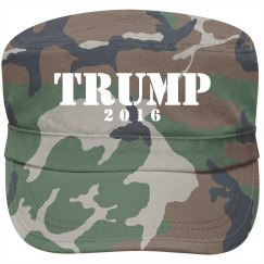 Trump For President Military