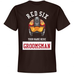 Groomsman Red Six