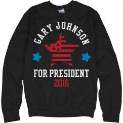 Gary Johnson Sweatshirt