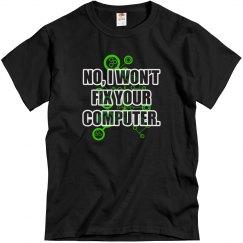 No Fixing Computers