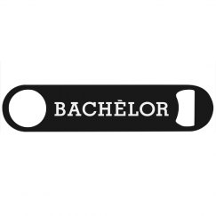 Bachelor Bottle Opener