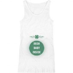 Irish Baby Inside Maternity Top