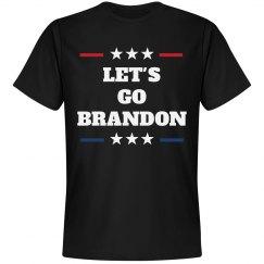 Let's Go Brandon Chant Tee