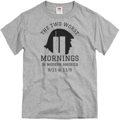 America's Two Worst Mornings