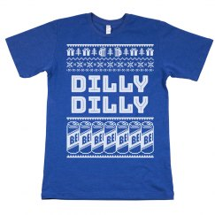 Dilly Dilly Beer Ugly Christmas