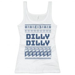 Dilly Dilly Christmas Tank