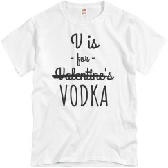 V is For Vodka