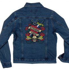 Eternal Love Denim Bikers Jacket