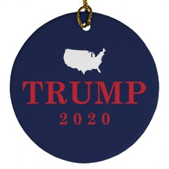 Trump 2016 Political Ornament
