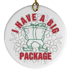 Big Package Ornament