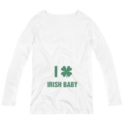I Heart Irish Maternity Top