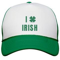 I Heart Irish St. Patricks Hat