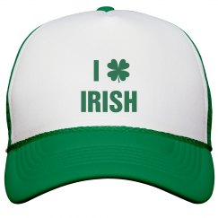 I Heart Irish St. Patricks Hat