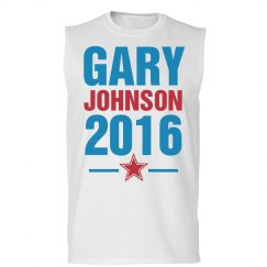 Gary Johnson Muscle Tank