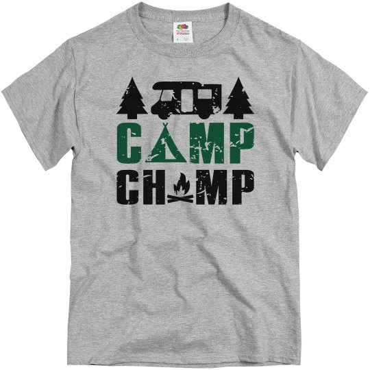 Camp Champ Adult Unisex Basic Tee