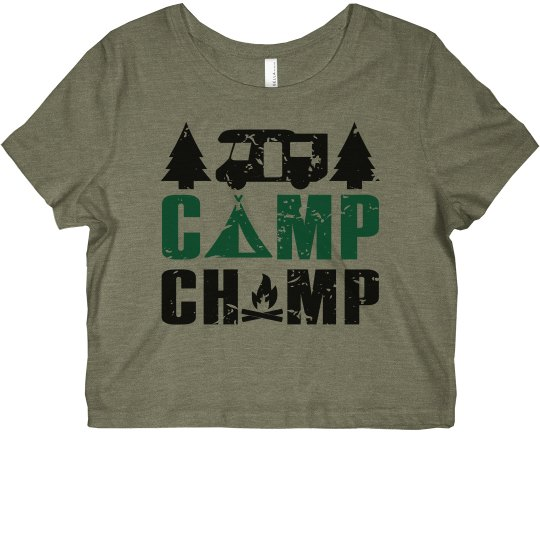 Camp Champ Cropped Tee