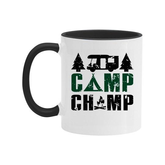 Camp Champ Two Tone Coffee Mug