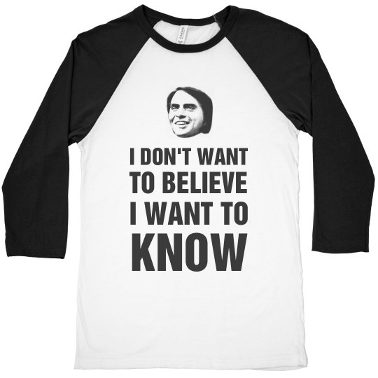 Carl Sagan I Want To Know