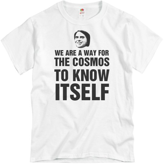 Carl Sagan The Cosmos Quote