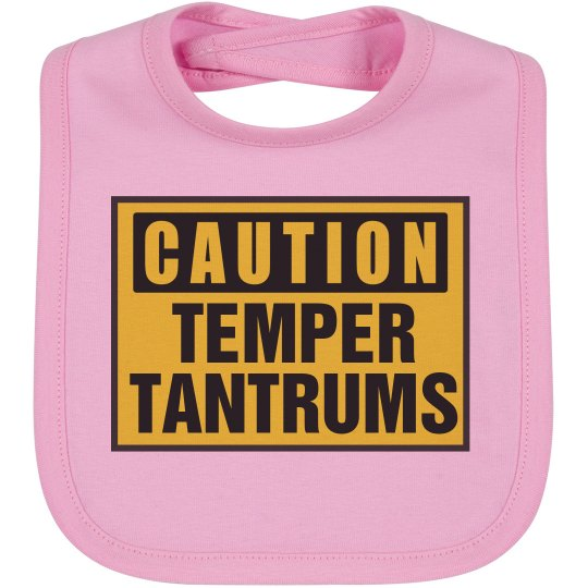 how to stop infant temper tantrums