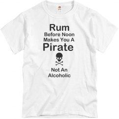 Pirates Drink Rum