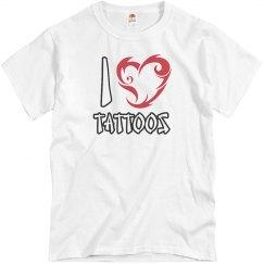 I Love Tattoos T-Shirt