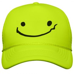 Drunk Face Neon Hat