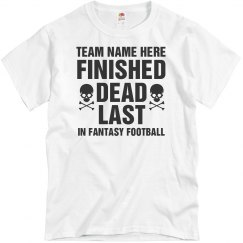Custom Fantasy Football Loser