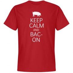 Keep Calm And Bacon