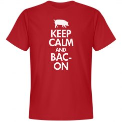 Keep Calm And Bacon