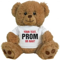 Prom Bear How Ask Her To Prom