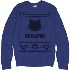 Ugly Cat Sweater