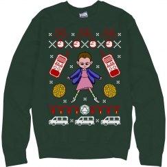 Hawkins Strange Ugly Sweater