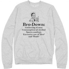 Bro-Down Definition