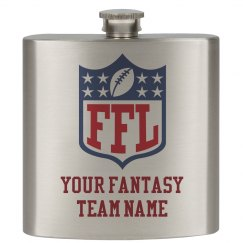 Fantasy Football Custom Team Name Flask