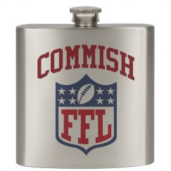 Fantasy Football Commish/Commissioner Flask