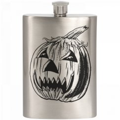 Pumpkin/Halloween Flask