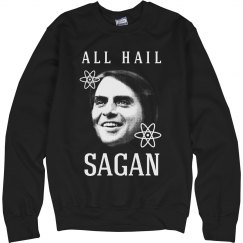 All Hail Carl Sagan & Science
