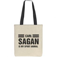 Carl Sagan Spirit Animal Science