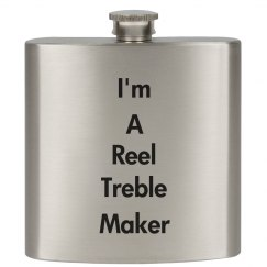 Reel Treble Maker Flask