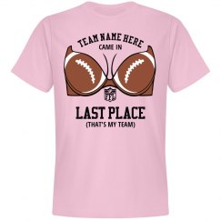 Custom Last Place Fantasy FB Loser