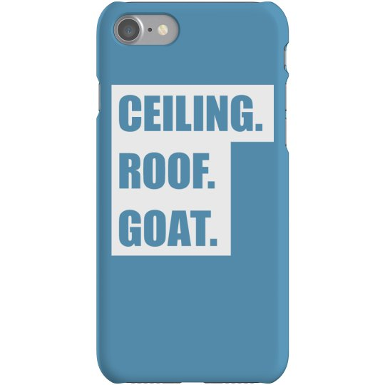 Ceiling Roof Goat Phone Case
