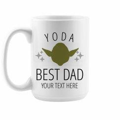 Yoda Best Dad Custom Mug