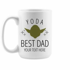 Yoda Best Dad Custom Mug